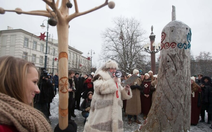 На площади Лукишкю останавливали конец света