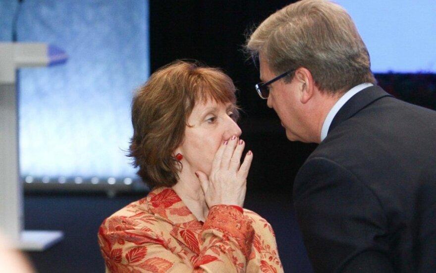 Эштон: ЕС расширяет список лиц, против которых введены санкции