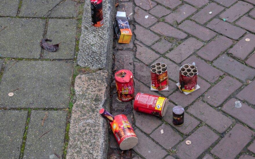 В Беларуси ввели запрет на торговлю пиротехникой