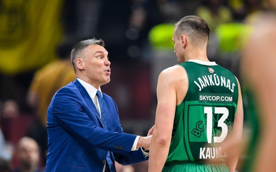 Šarūnas Jasikevičius ir Paulius Jankūnas