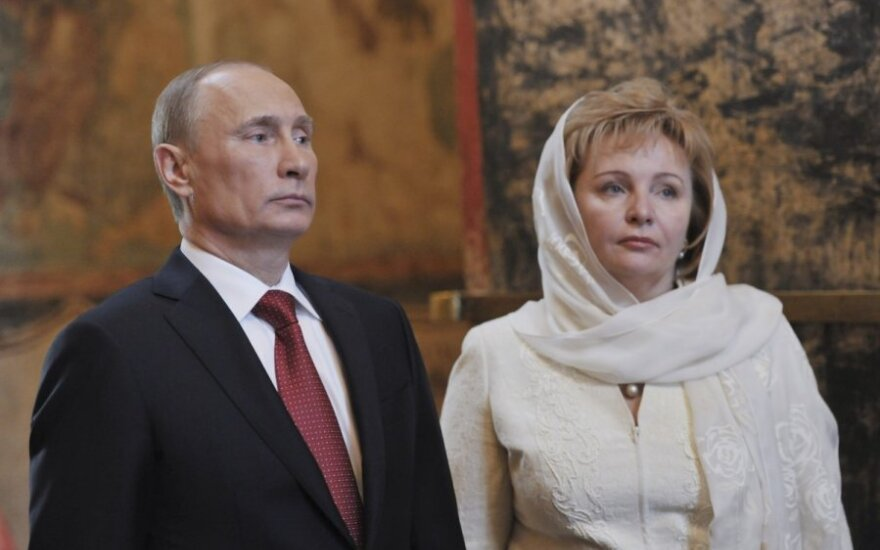 Vladimiras Putinas ir Liudmila Putina