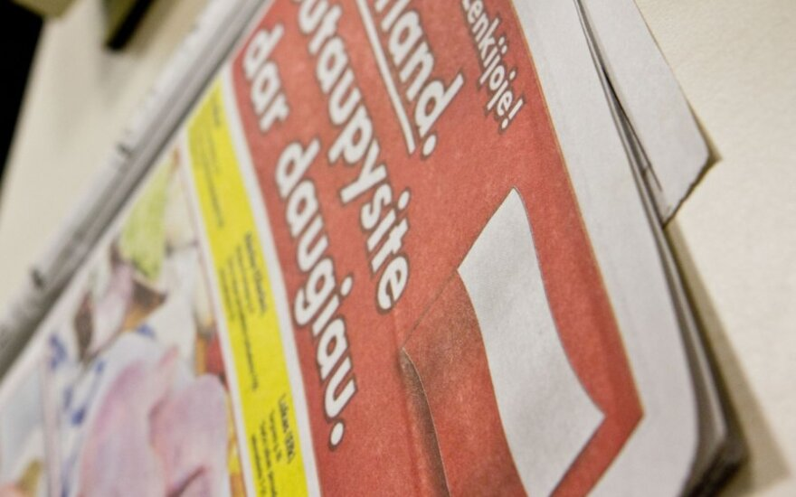 Торговые центры Польши завлекают рекламой в литовской прессе