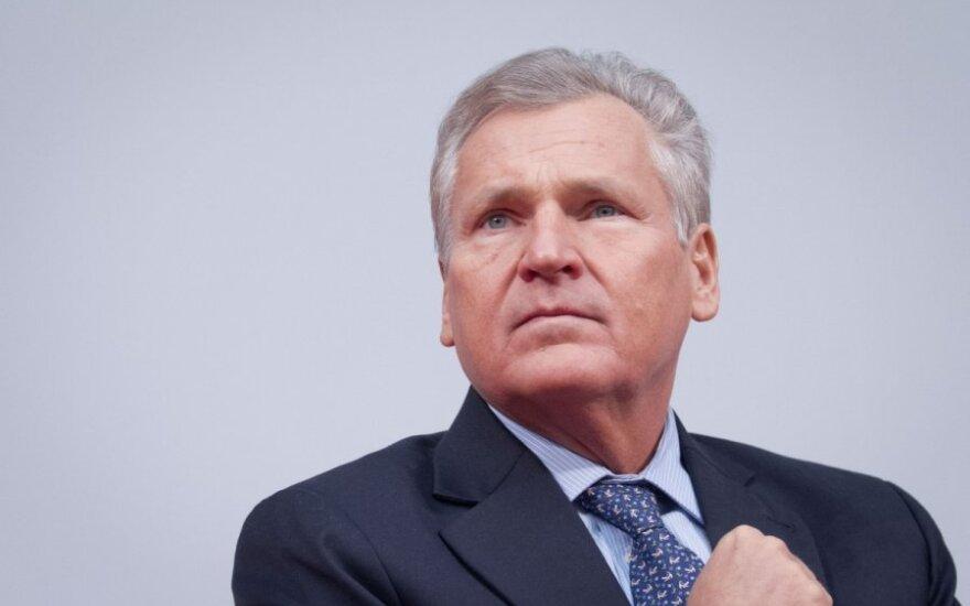 Aleksander Kwaśniewski: Ukraina potrzebuje pomocy Rosji i UE, by chaos polityczny nie przerodził się w dramat gospodarczy