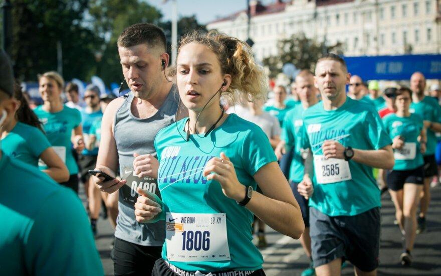 В Вильнюсе состоялся марафон We Run Vilnius