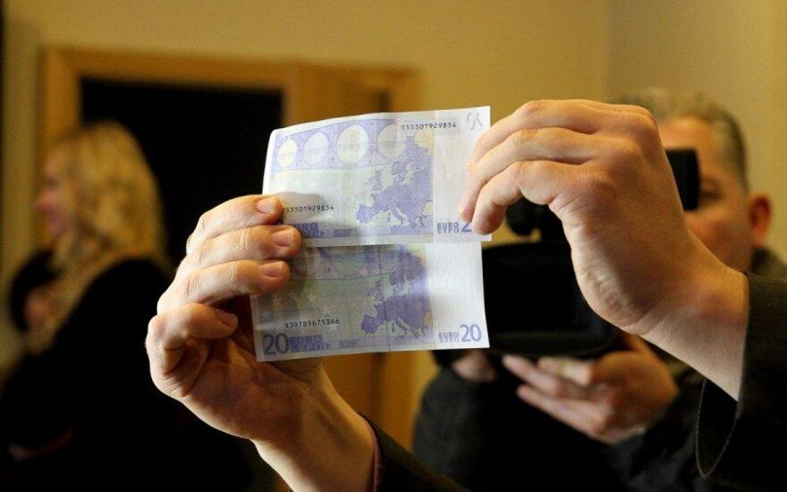 Растет число сообщений о фальшивых евро
