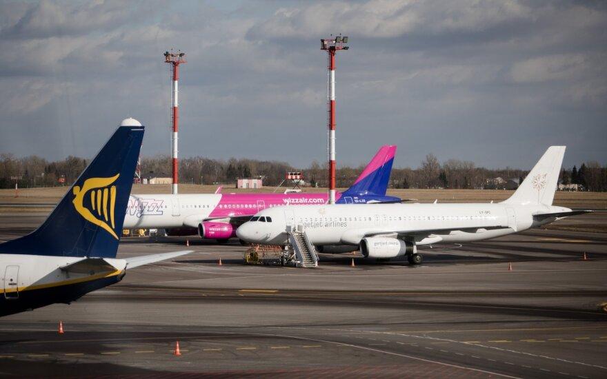 Отменены рейсы из Вильнюса в Копенгаген, Стамбул, Вену и Саутенд