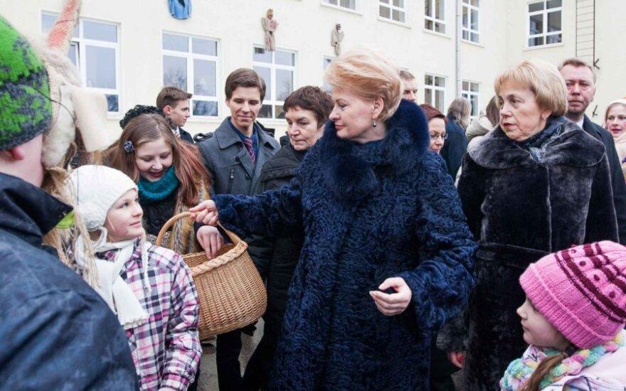 Sondaż: Mimo malejącej popularności Grybauskaitė nadal pozostaje faworytem w wyborach prezydenckich