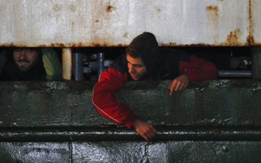 В Средиземном море затонули два судна с 500 мигрантами