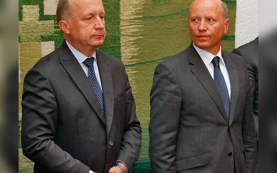 Andrius Kubilius, Raimundas Palaitis