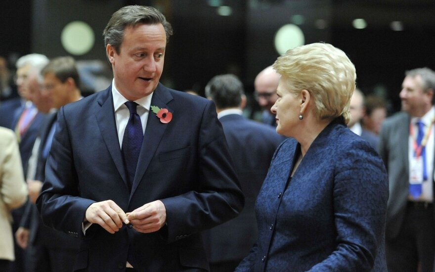 Грибаускайте о Brexit: люди голосовали против власти