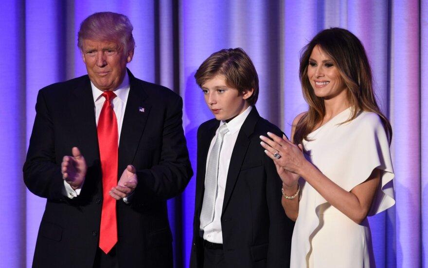 D. Trumpas laimi JAV prezidento rinkimus