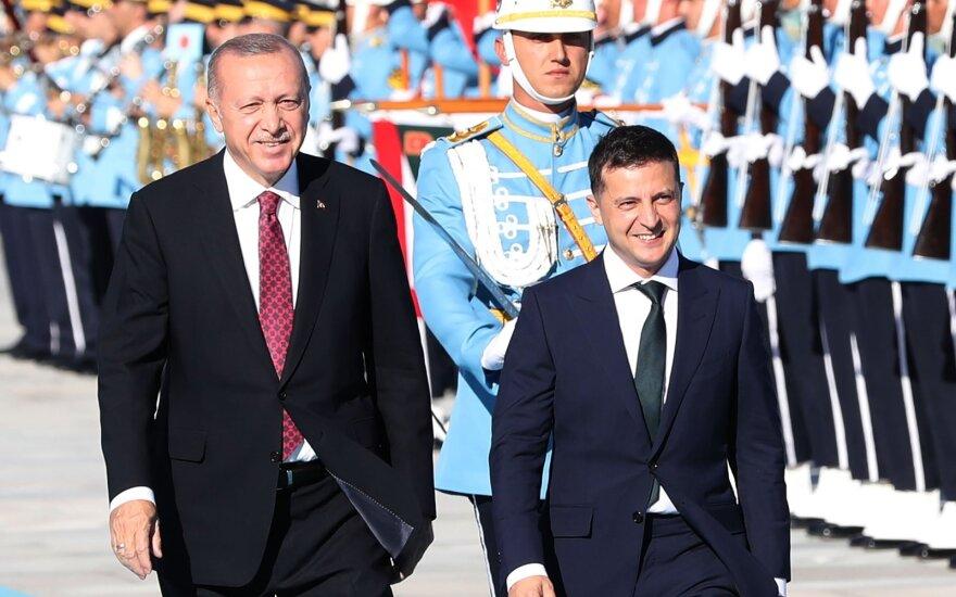 Recepas Tayyipas Erdoganas, Volodymyras Zelenskis