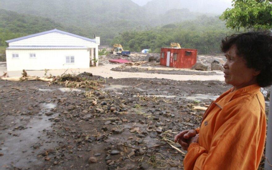 Taivanas rengiasi supertaifūnu vadinamai audrai