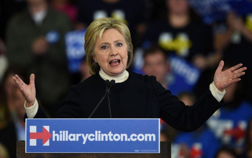 Хиллари Клинтон победила на праймериз в Южной Каролине