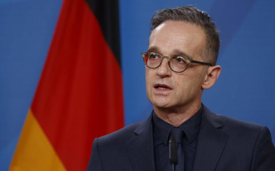 Глава МИД Германии выступил за санкции в отношении России