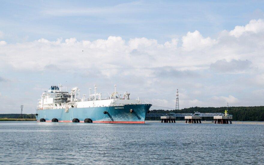 В Клайпеду пришло судно СПГ Equinor