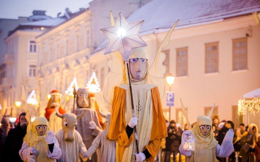 По Вильнюсу прошла процессия Трех королей