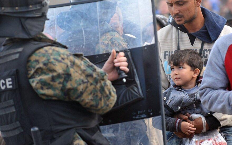 Македония закрыла границу с Грецией для афганцев