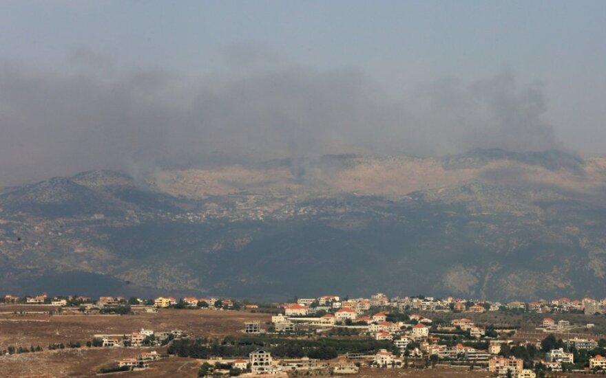 Susirėmimai Izraelio-Libano pasienyje