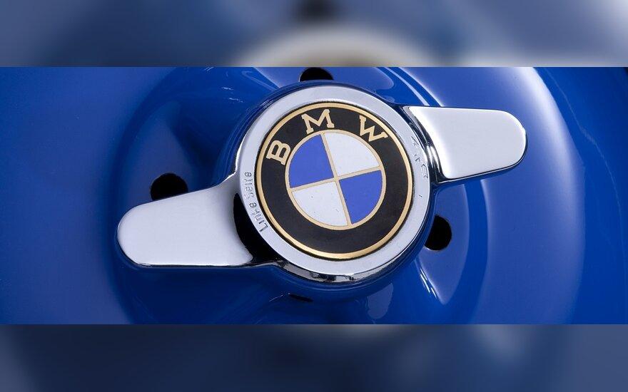 Уникальный концепт BMW 328 Hommage в движении