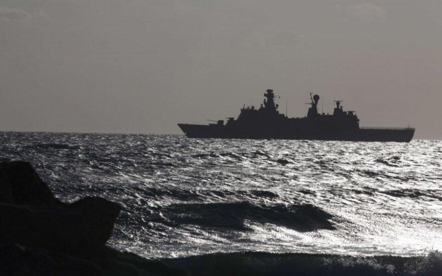 Sankcje dla Rosji od Baracka Obamy. Krążownik rakietowy USA na Morzu Czarnym