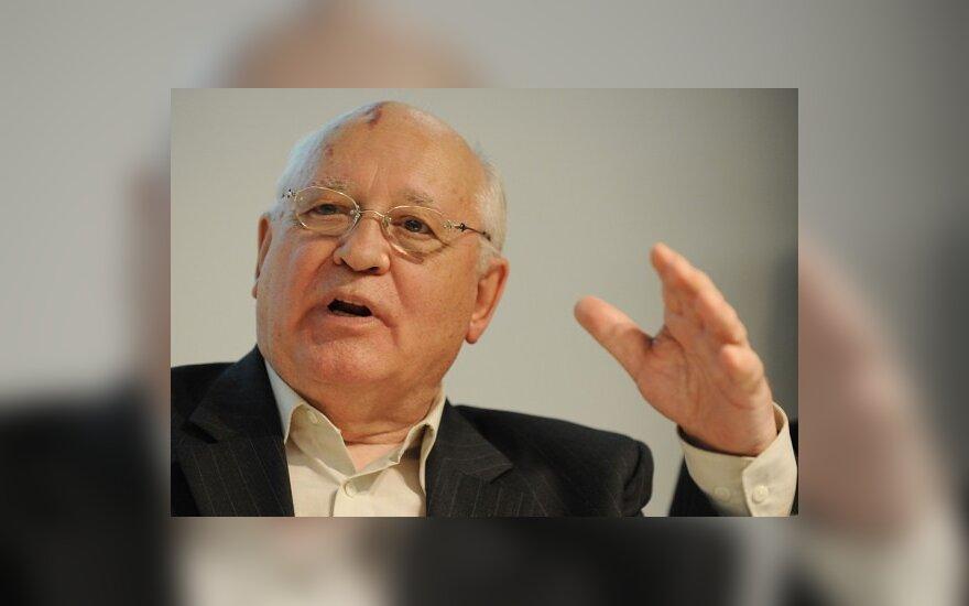 Э.Зингерис против кандидатуры М.Горбачева