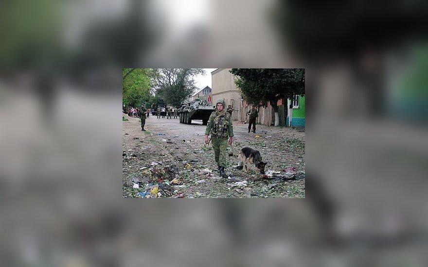 Po sprogimo Dagestane