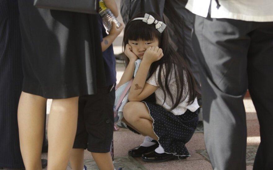 Япония почтила минутой молчания память жертв цунами 2011 года