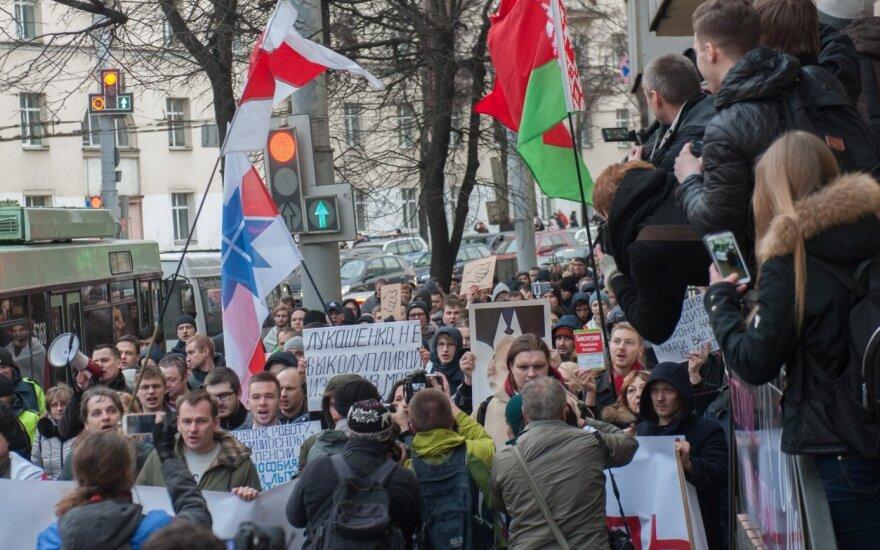 В Минске судят 49 участников разрешенного властями протеста