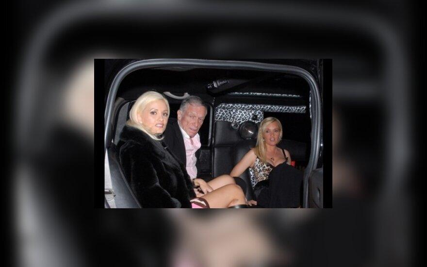 Основатель Playboy Хью Хефнер решил развестись