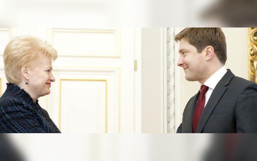 Dalia Grybauskaitė, Rimantas Žylius