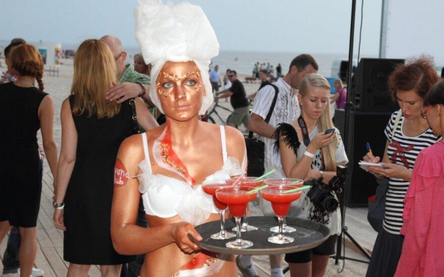 В Юрмале открылся эксклюзивный пляж