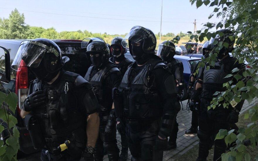 После видео в социальной сети полиция наведалась в Кибартайскую колонию