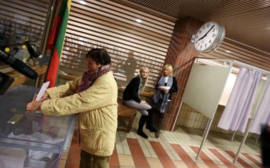 Одномандатники: в Вильнюсе и Каунасе доминируют консерваторы, в провинции – Партия труда
