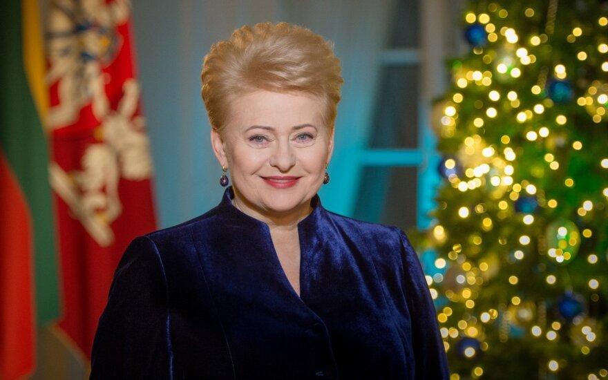 Президент поздравила православных и староверов Литвы с Рождеством Христовым