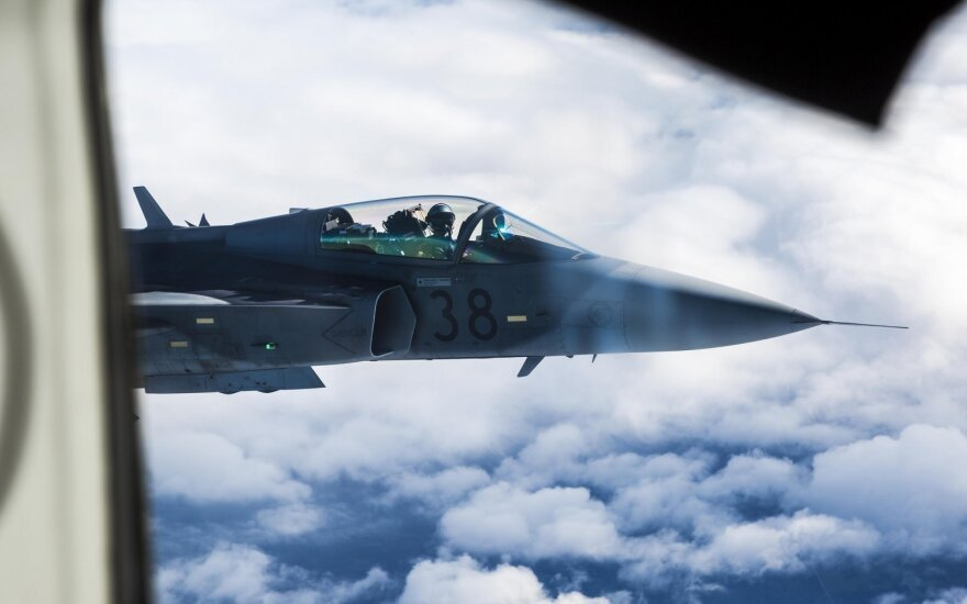 Минувшая неделя была спокойной для миссии Балтийского воздушного патруля