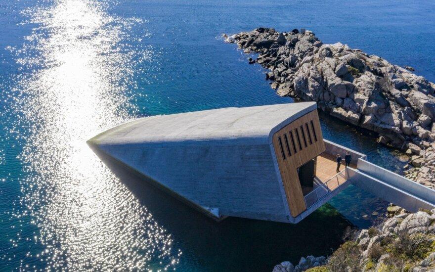 Norvegijoje atidarytas pirmasis Europoje povandeninis restoranas
