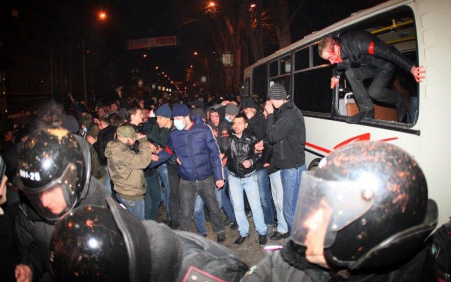 СМИ: в столкновениях в Донецке погибли три человека