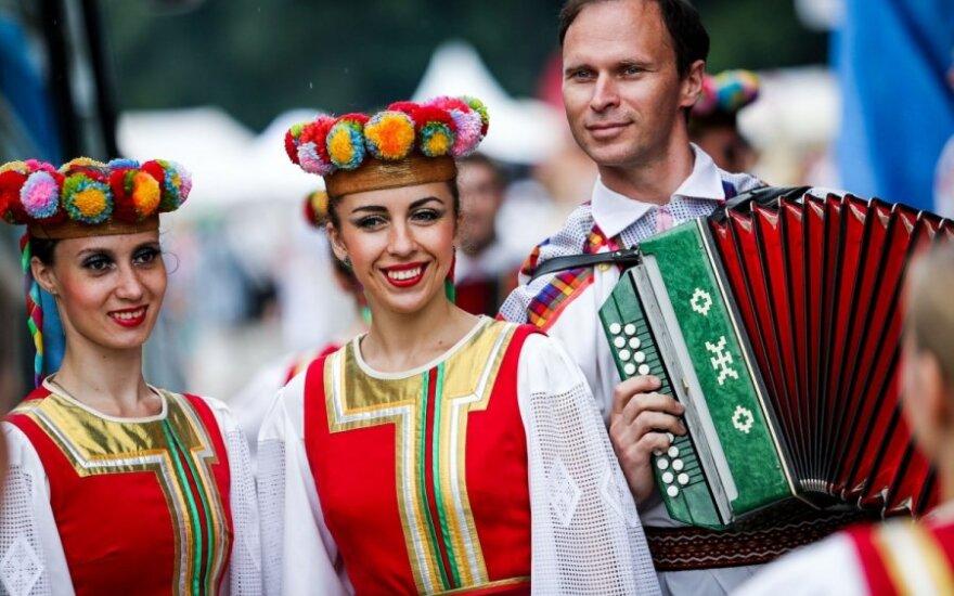 В столице Литвы отметили День России