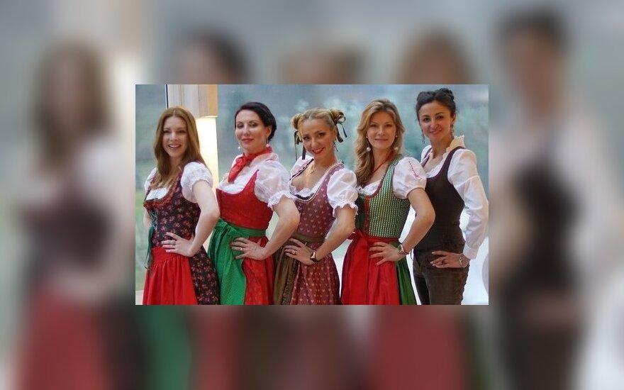 ФОТО: Навка и Подольская развлеклись на Тирольской вечеринке
