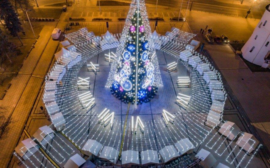 Вильнюс в числе 25 городов с самыми красивыми рождественскими елками