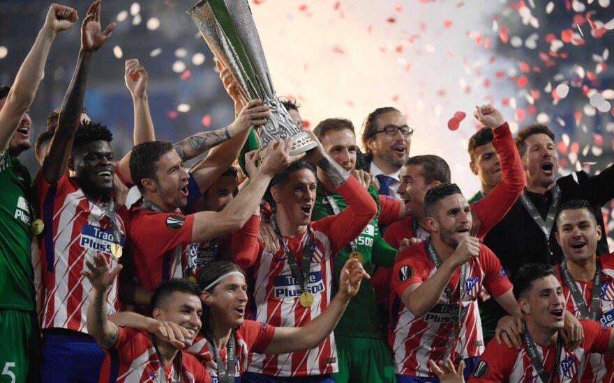 "Europos lygos finalas, ""Marseille"" - Madrido ""Atletico"""