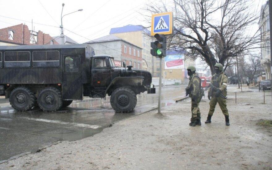 В Дагестане - траур по погибшим в результате падения микроавтобуса в ущелье