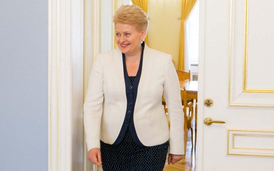 Prezydent Dalia Grybauskaitė zgodziła się na wpis o narodowości w paszporcie