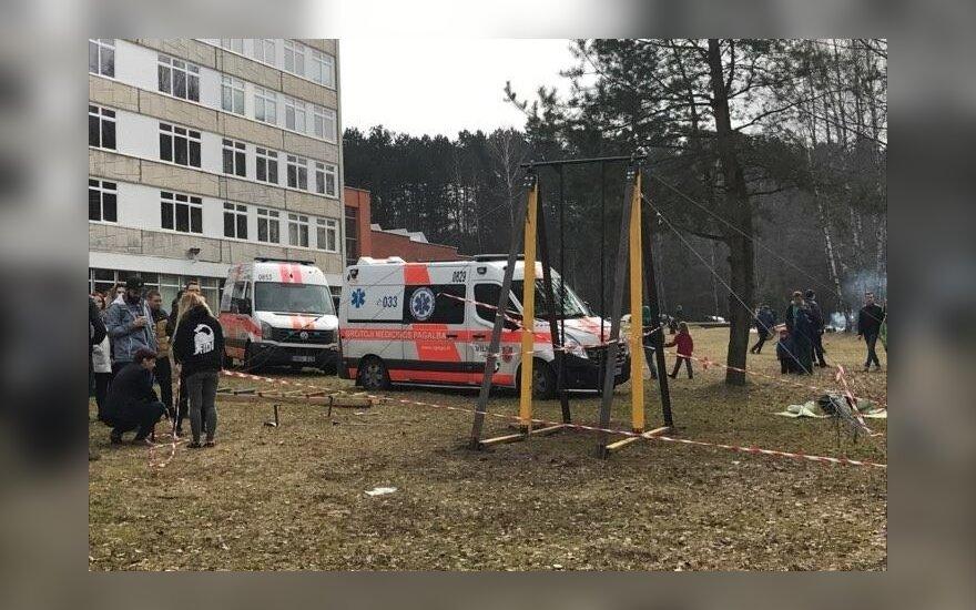 В ходе празднования Дня физика на аттракционе пострадал студент