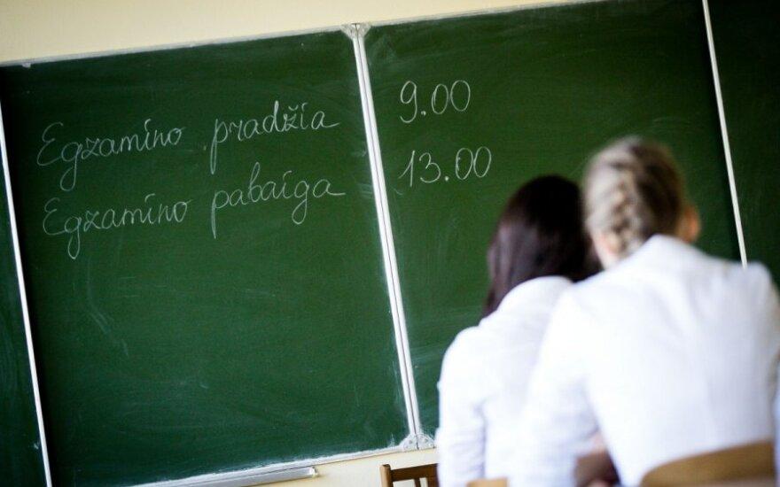 Экзамен по литовскому языку не испугал абитуриентов, планирующих эмигрировать