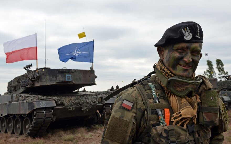 В Польше начинаются военные учения НАТО Anakonda