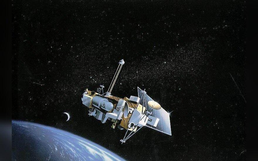 Американский спутник UARS. Фото с сайта outreach.eos.nasa.gov