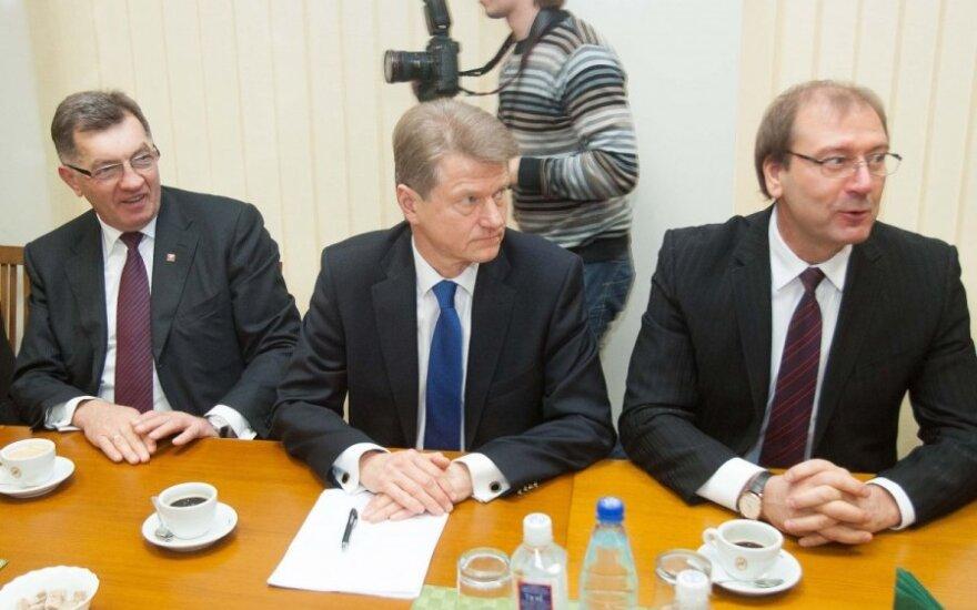 Algirdas Butkevičius, Rolandas Paksas, Viktoras Uspaskichas