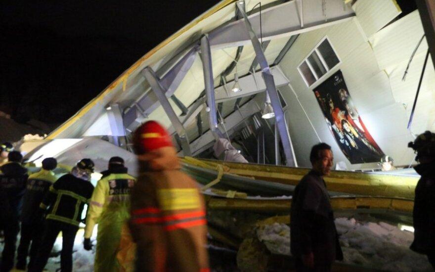 В Южной Корее обрушился отель: 3 погибших, 50 человек под завалами